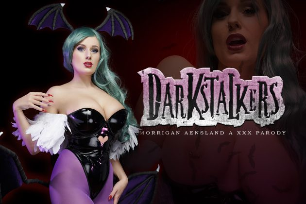 Darkstalkers VR порно пародия Морриган Аэнслэнд ХХХ