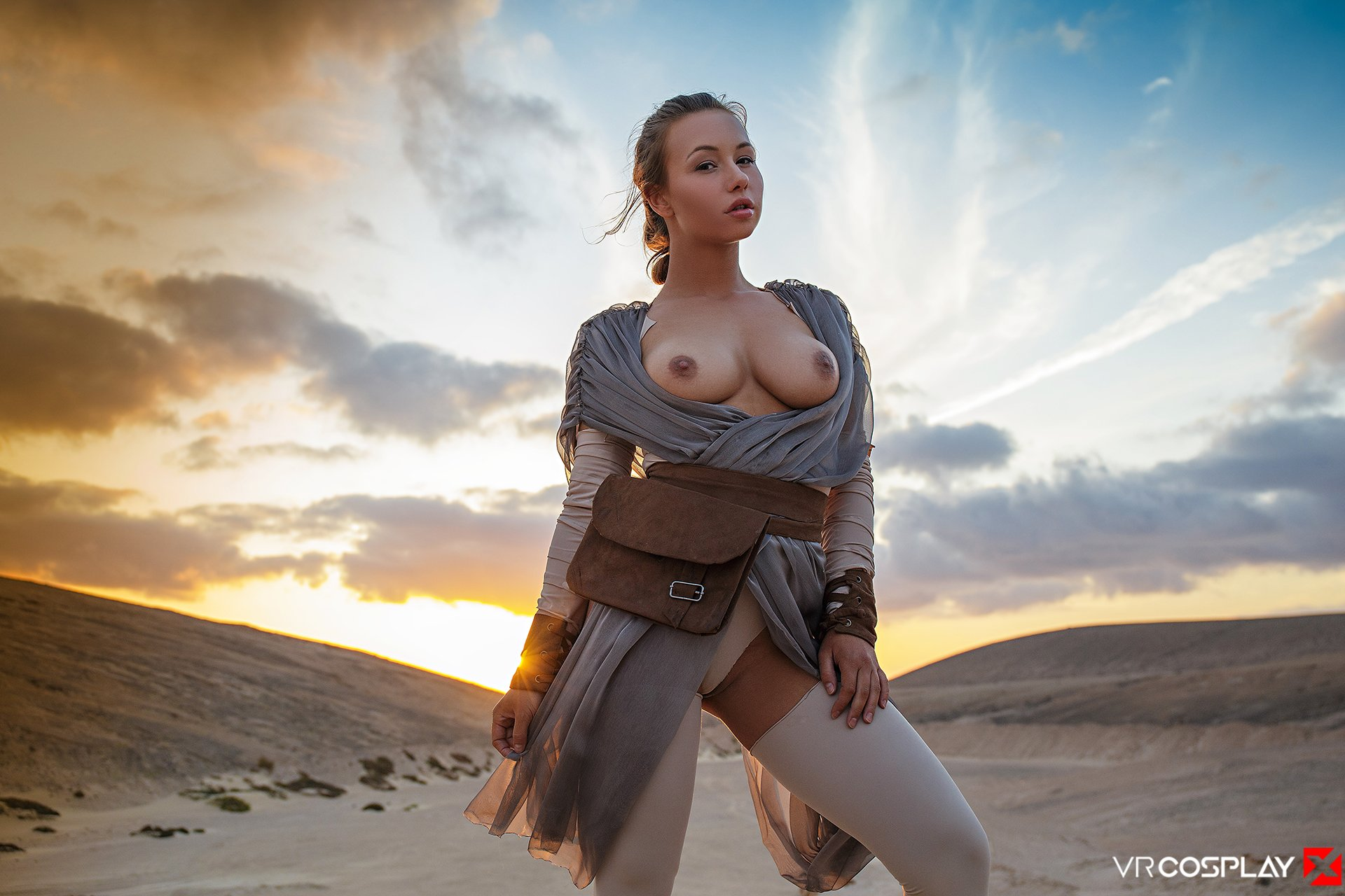 Star wars cosplay porn