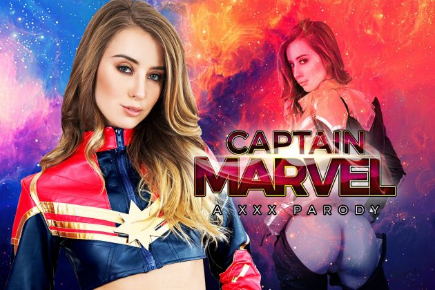 VR порно по вселенной Марвел Капитан Марвел ХХХ Пародия