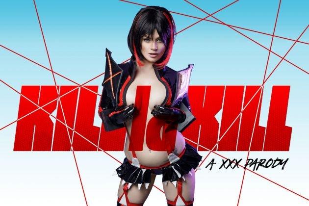 Kill La Kill. Убей или Умри VR порно косплей с Рюко Матой.