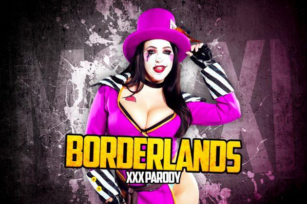 VR порно косплей по игре Borderlands. Безумная Мокси
